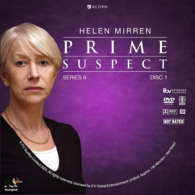 Prime Suspect Season 6 Disc 1 DVD Label
