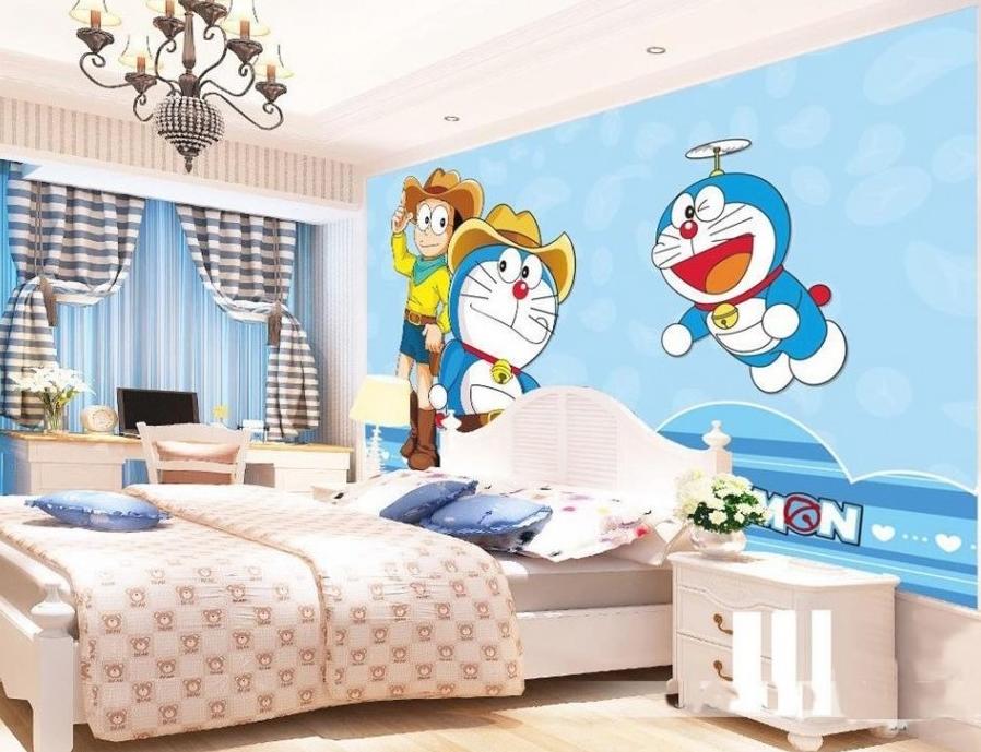 28 Dekorasi Kamar Doraemon Sederhana Paling Kreatif dan