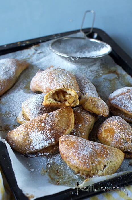 como preparar pasteles de manzana al horno