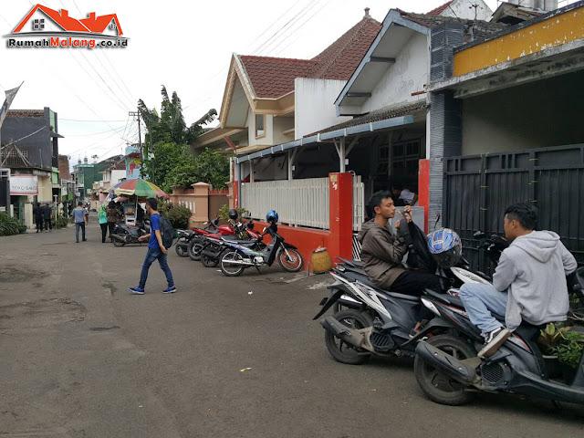 Rumah dijual lokasi strategis depan kampus Malang Kota