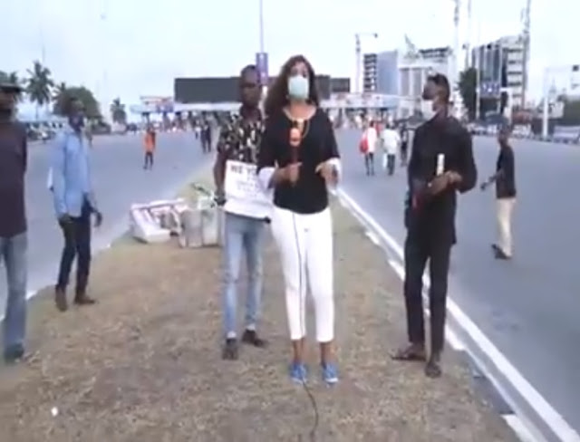 NTA Journalist Who Survived Lekki Shooting Described It A Miracle, Gives Info On What Happened