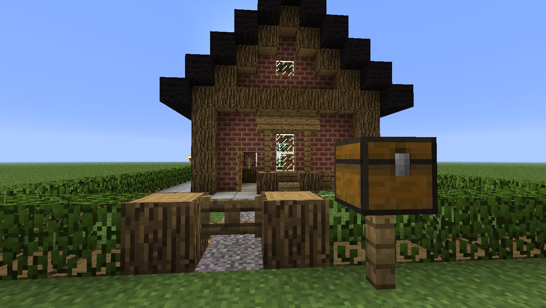 fr minecraft petite maison avec piscine t l charger. Black Bedroom Furniture Sets. Home Design Ideas