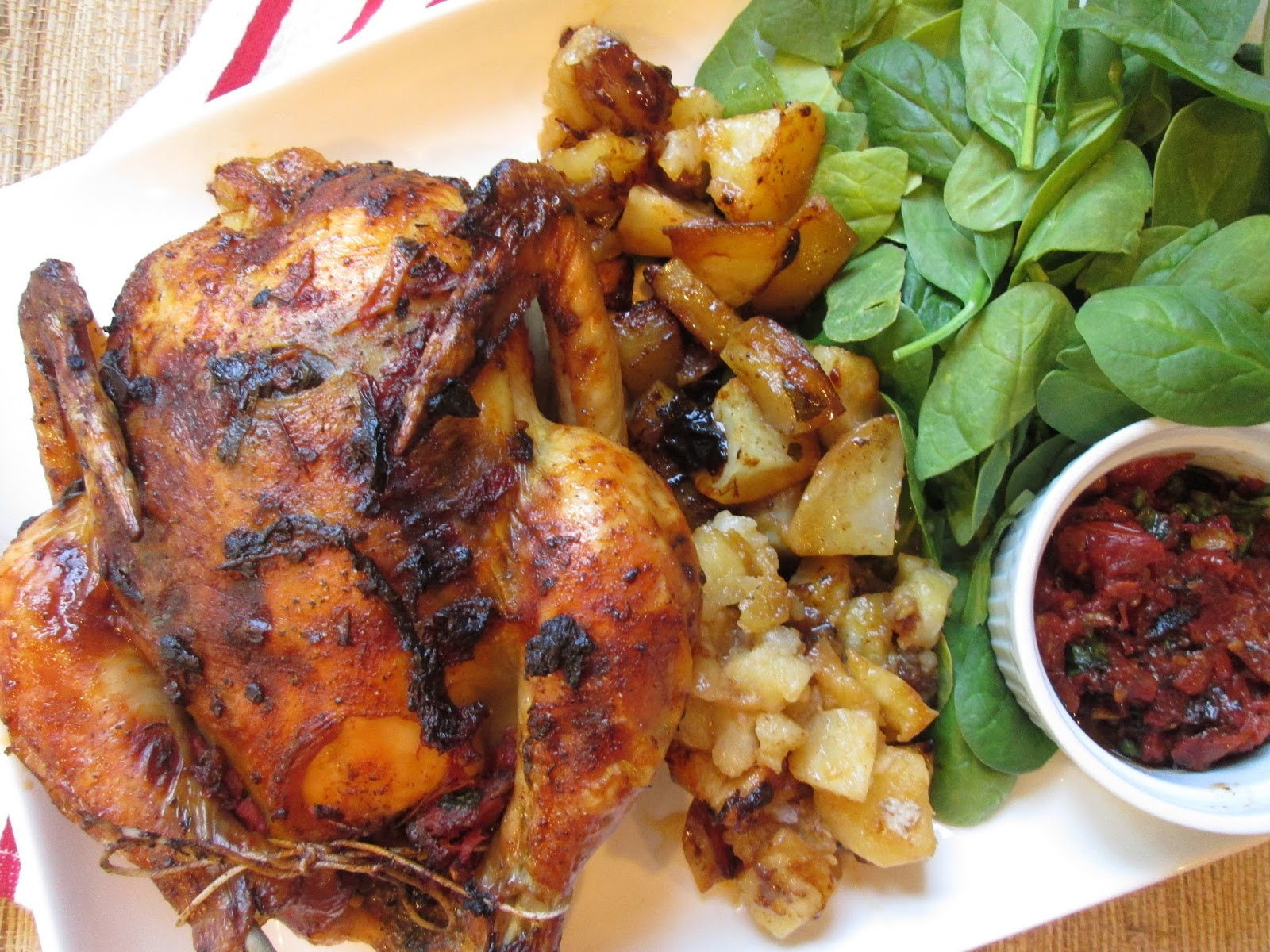 ... the Pot: Curtis Stone's Whole Roasted Chicken with Tomato-Basil Butter