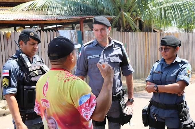 Em Manacapuru, 9º Batalhão da Polícia Militar inicia uso de aplicativo para aproximação com comunidade