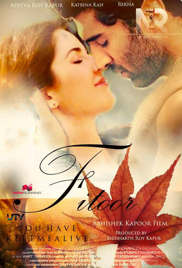 Poster Of Fitoor 2016 Hindi 700MB DVDScr Xvid Watch Online