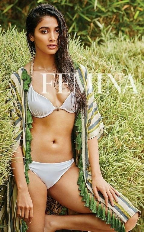Pooja Hegde Sexy Bikini Photoshoot