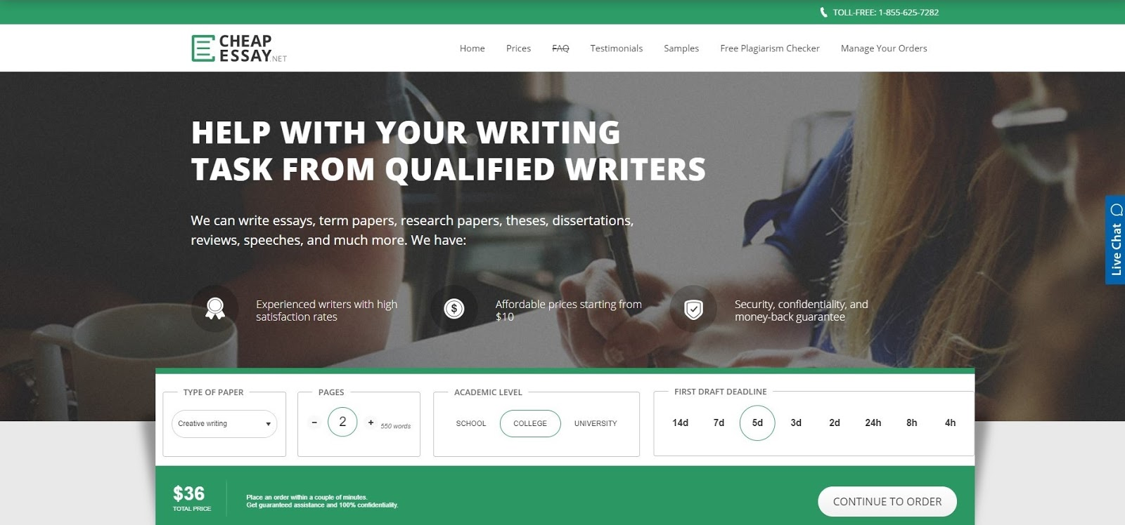 Cheap essay writing company