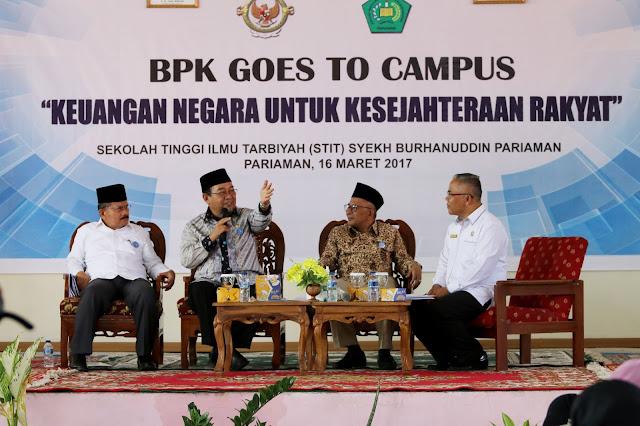 BPK Goes to Campus STIT SB, Ketua BPK: IPM Indonesia Peringkat Rendah Dunia