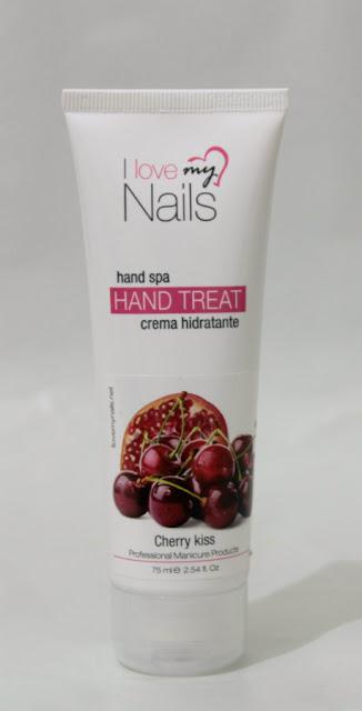 Crema de manos y uñas Cherry Kiss