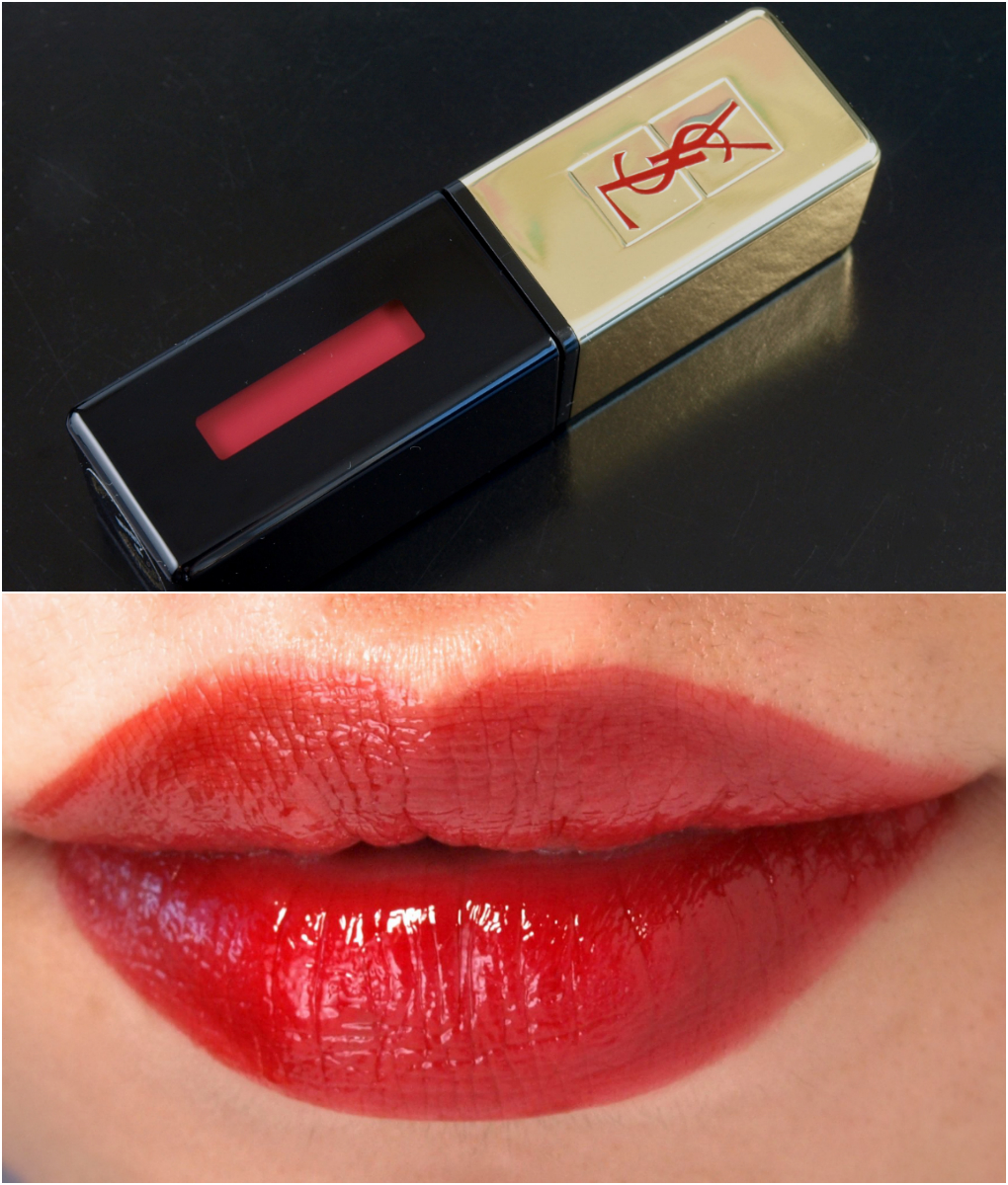 Fall Lips With Ysl Yves Saint Laurent Rouge Pur Couture