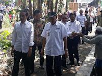 Jokowi Tinjau Proyek Dana Desa di Berbah