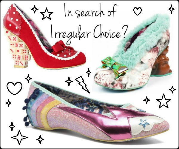 irregular choice character heels disney limited edition stockist information
