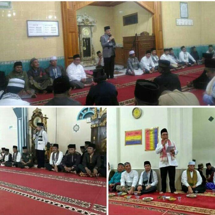 Safari Ramadhan Perdana, Pemkab Kerinci Kunjungi  Tiga Masjid