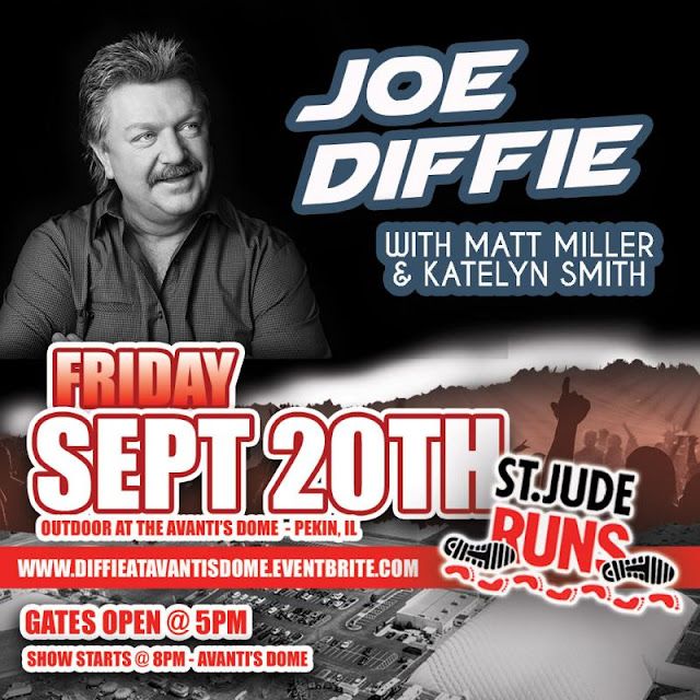 Joe Diffie Outdoor at the Avanti's Dome!, Metamora Herald