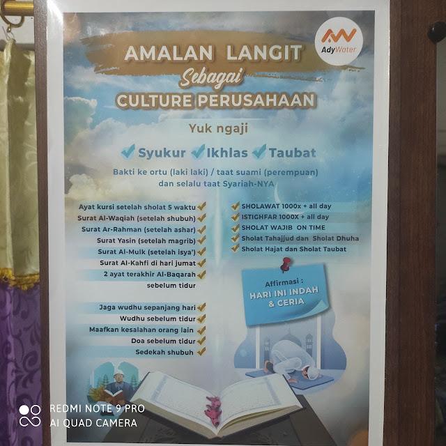 Habits umat Islam