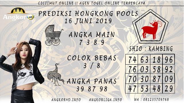 PREDIKSI HONGKONG POOLS 16 JUNI 2019