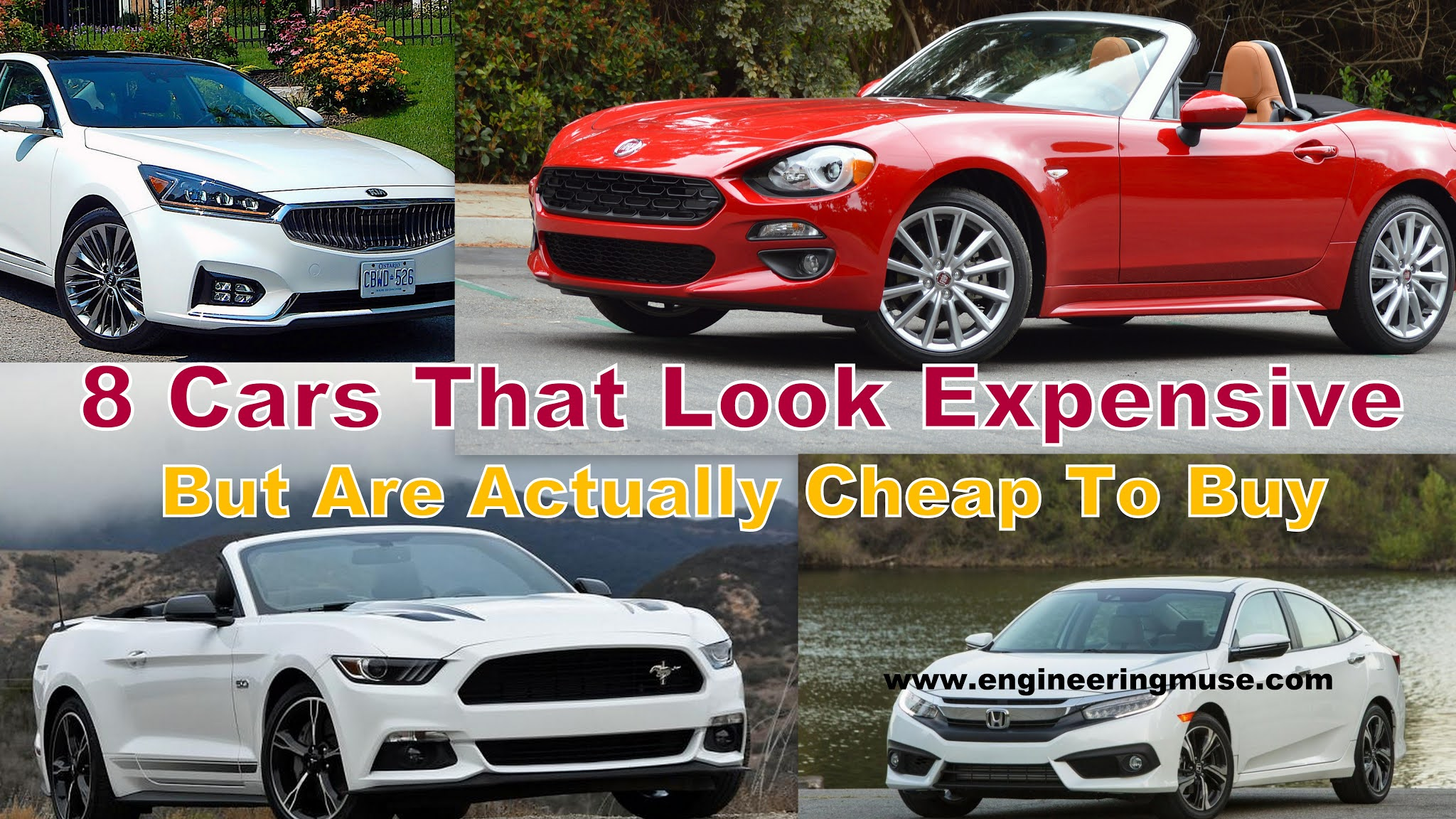 expensive look cheap cars