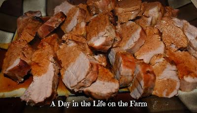 Molasses Roasted Pork Tenderloin