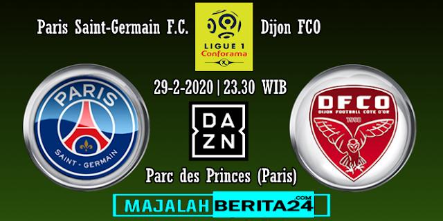 Prediksi Paris Saint Germain vs Dijon