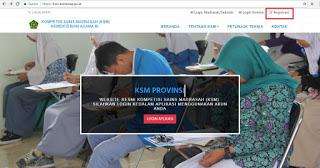Daftar KMS Melalui Situs Resminya di ksm.kemenag.go.id