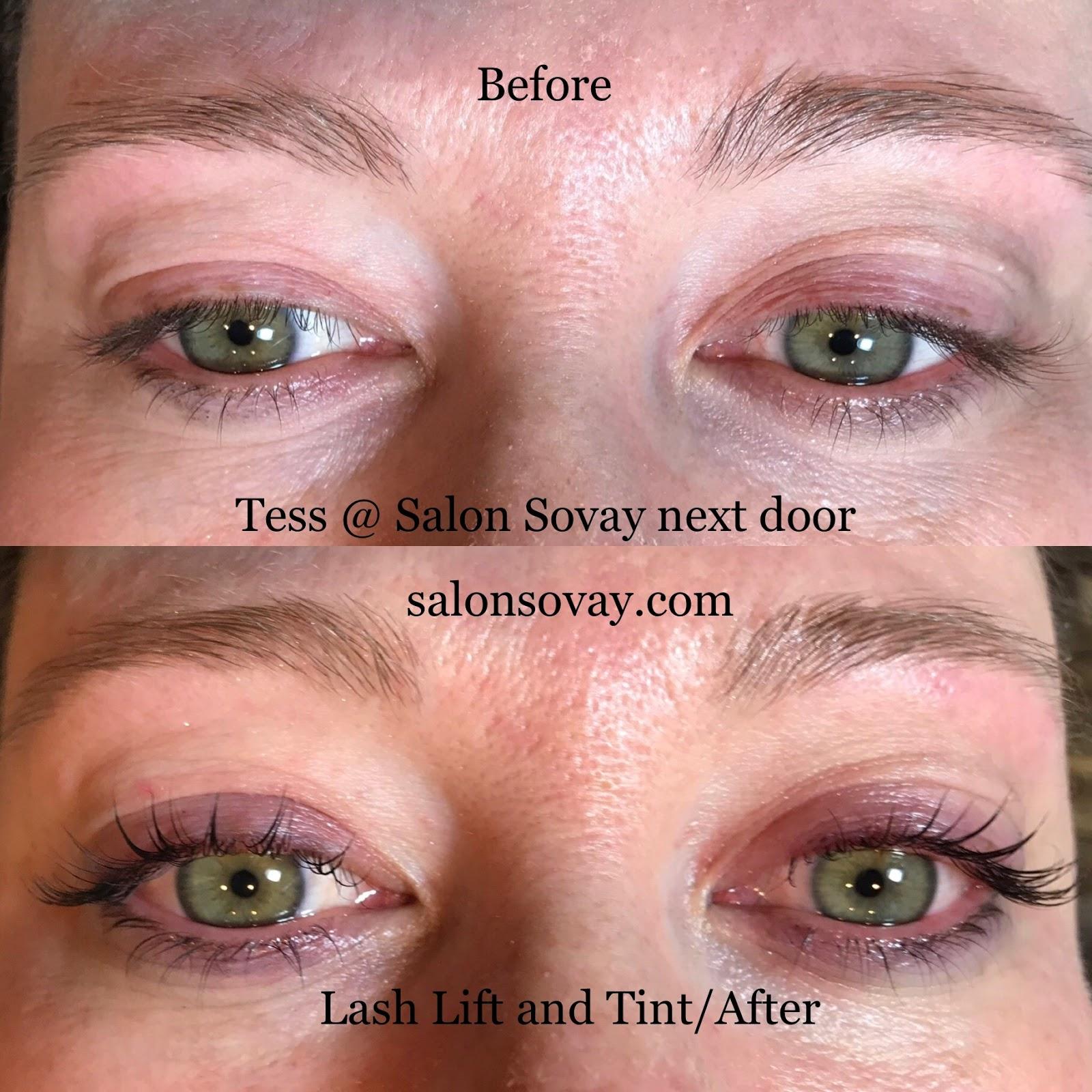 Salon Sovay Lash Permlash Lift And Lash Tint Service At Salon
