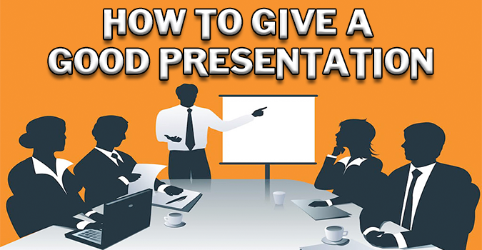 how to create a good presentation