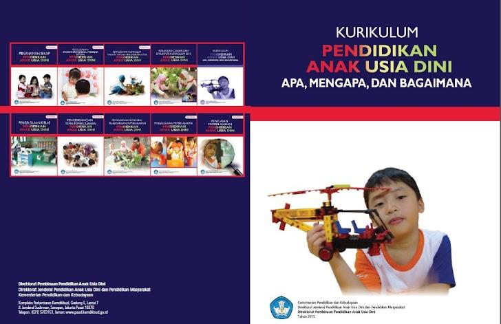 Buku Pedoman Implementasi Kurikulum 2013 PAUD/TK