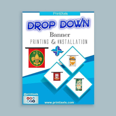 Drop Down Banners