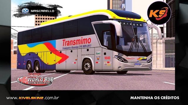 MASCARELLO ROMA R8 - VIAÇÃO TRANSMIMO