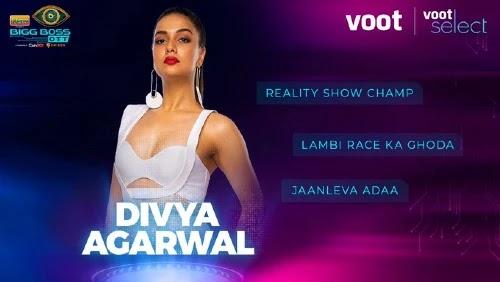 Bigg Boss OTT Contestant 2 - Divya Agarwal