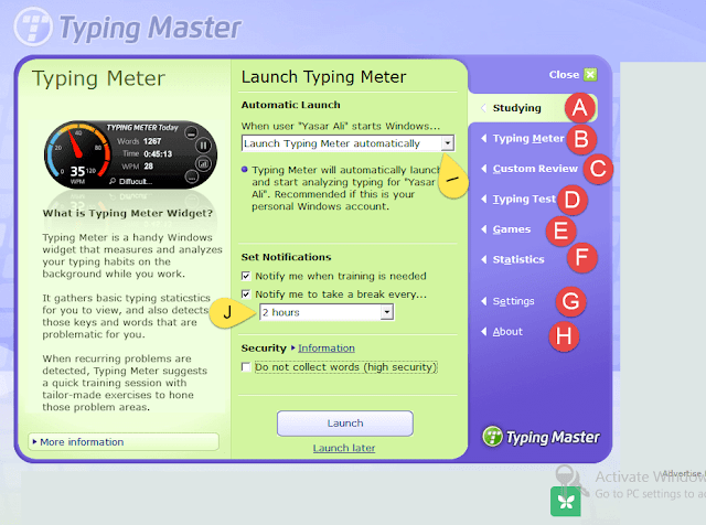 Typing Tutor Download