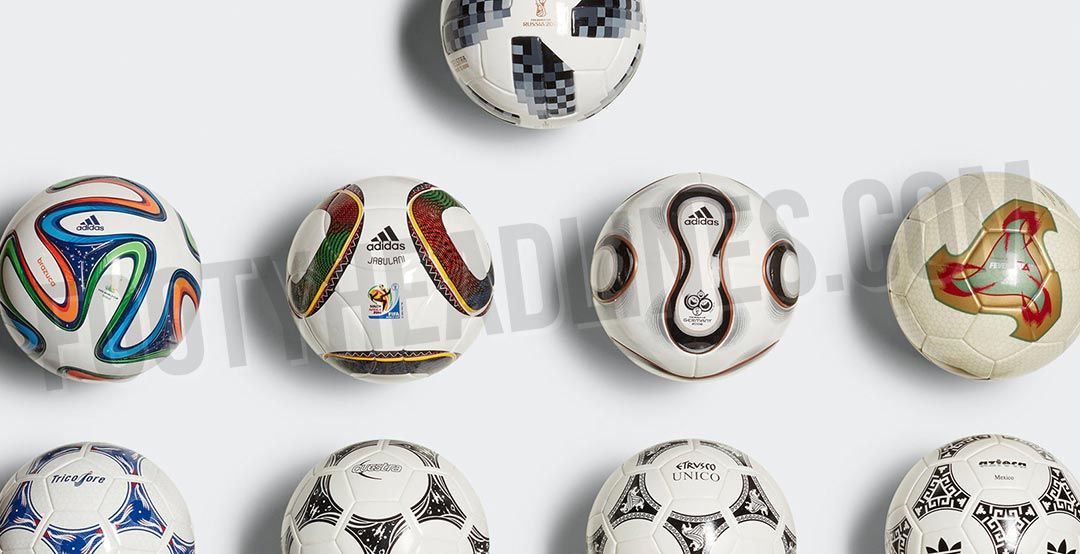 new style c9e41 5d828 The Adidas Historical FIFA World Cup Mini Ball Set 1970-2018 is set to hit  stores in the coming weeks.