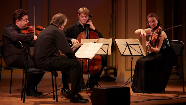 The Engegård Quartet (Photo John Petter Reinertsen)