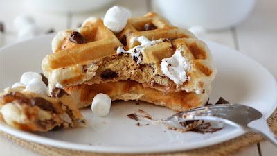 S'more's Waffles Recipe