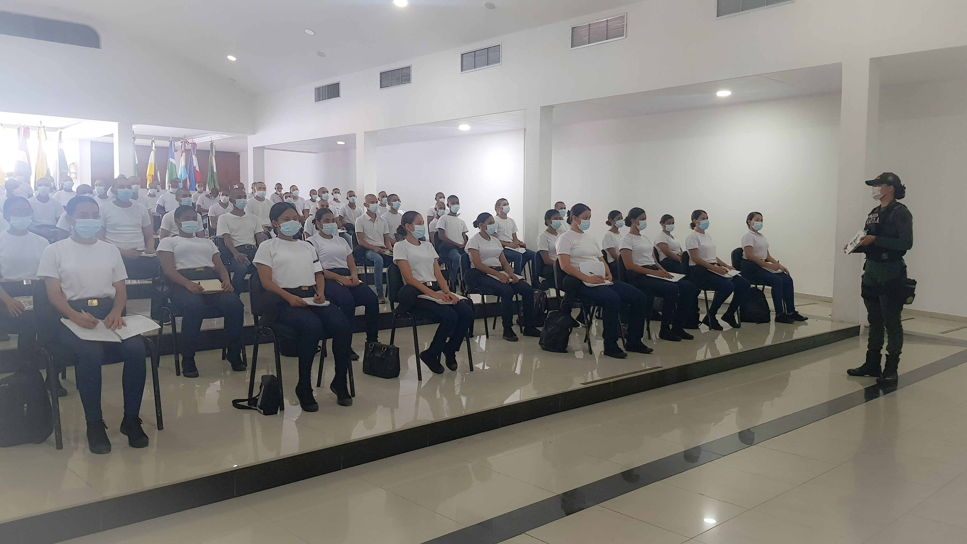 hoyennoticia.com, En Valledupar 20 mujeres se integraron a la Policía