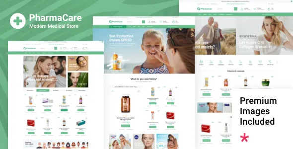 Best Pharmacy and Medical Store WordPress Theme