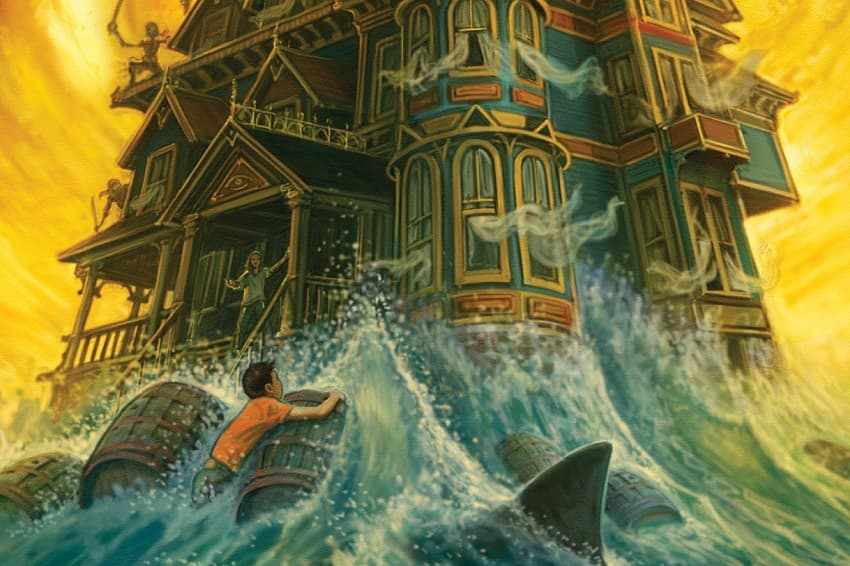 Крис Коламбус снимет для Disney+ фэнтези-сериал «Дом секретов» по мотивам своей трилогии книг