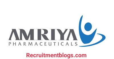 QA Documentation Specialist  at Amriya Pharmaceutical   Science Graduate Vacancy   one year of Experience