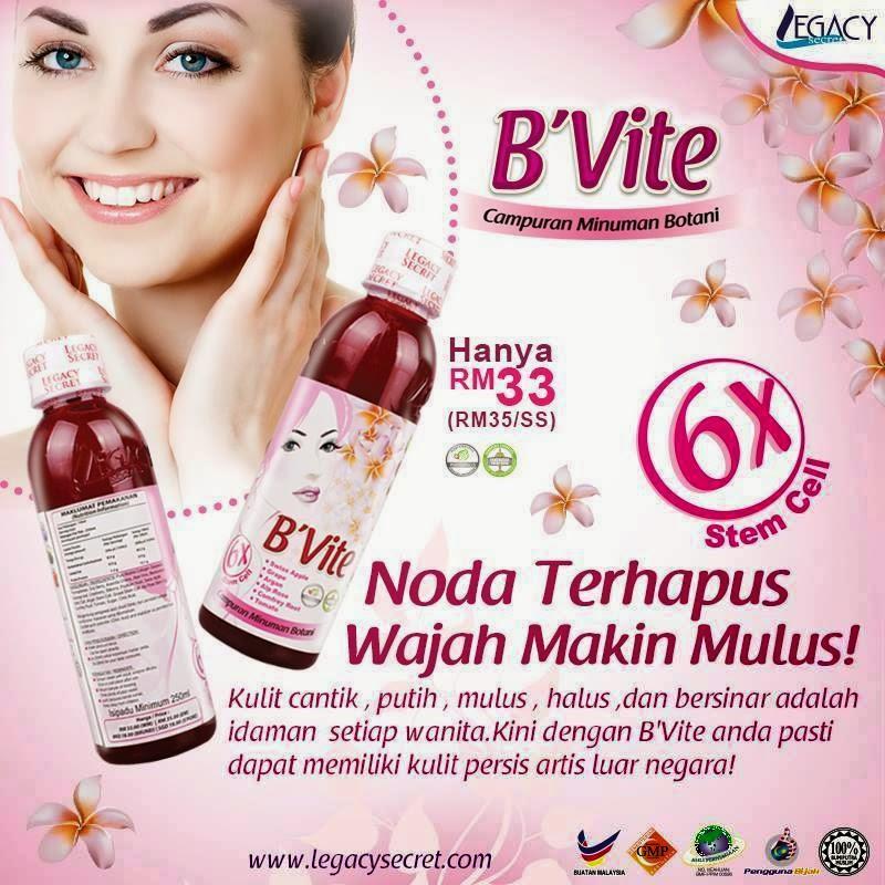 Herbal Rambut Uban Cara Untuk Mengatasi Jerawat Flek Hitam: MURAH2 ORIGINAL BEAUTYCARE: B'Vite BVite By Harum Malam