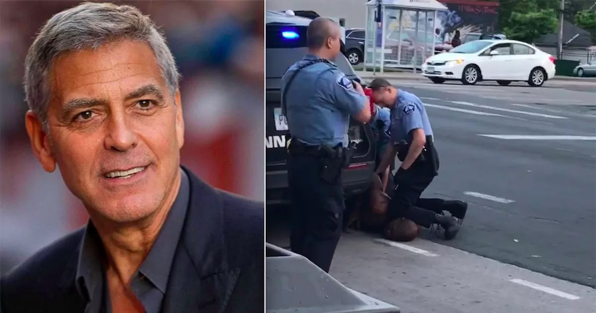 George Clooney Urged Prosecutor In George Floyd Murder Trial To Ask Derek Chauvin To Let Someone Kneel On His Neck