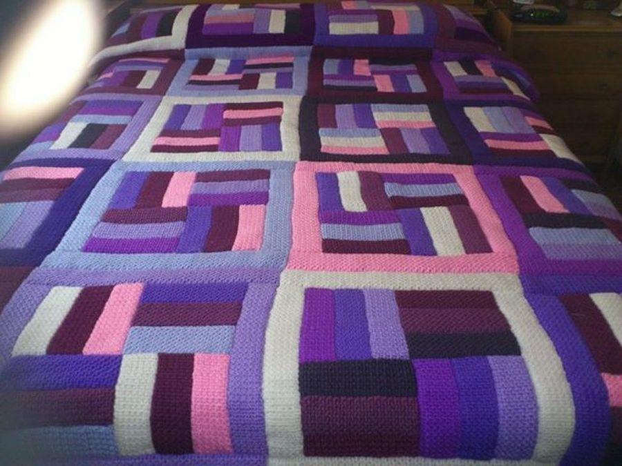 El taller de coser mantas - Mantas de bebe hechas a ganchillo ...