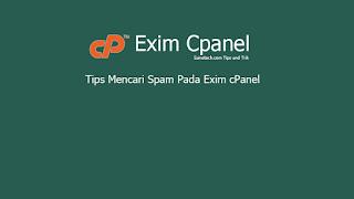 Tips Mencari Spam Pada Exim cPanel