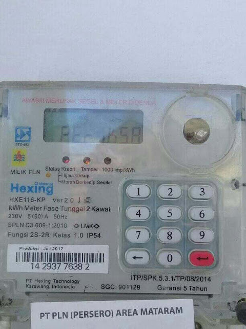 kWh Meter Periksa