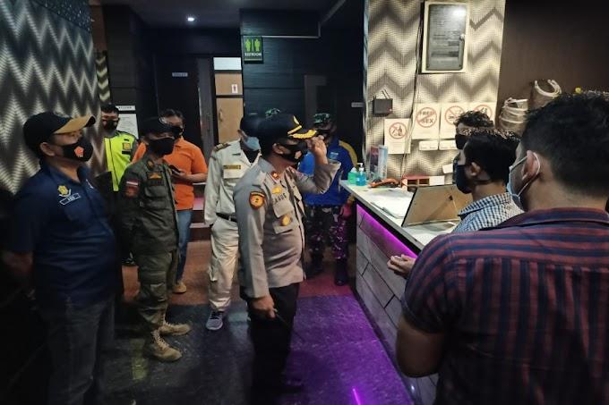 Satgas Covid-19 Cipocok Jaya Gelar Ops Pendisiplinan Prokes, Hotel GK Tak Luput Dari Sasaran Petugas