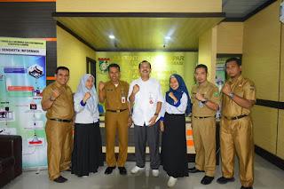 KI Riau Audiensi Dengan Kominfo Kampar