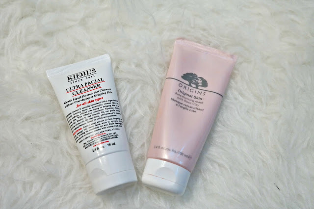 Origins Mask Kiehls facial cleanser