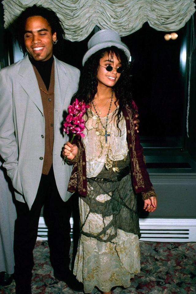 Beautiful Photos of Lisa Bonet and Her Husband Lenny Kravitz