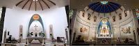 Before and After: Our Lady of Mount Carmel in Kenosha, Wisconsin