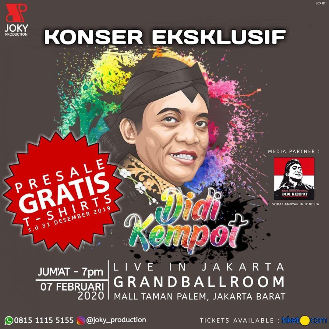 Konser Eksklusif Didi Kempot Sobat Ambyar Indonesia Promotion