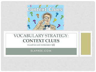 Context Clues - Examples and Worksheet (2)